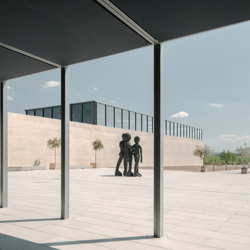 David Chipperfield unveils Würth art gallery in southern Germany