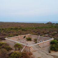 Gabinete de Arquitectura designs composting pavilion for Casa Wabi in Mexico