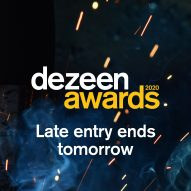 Dezeen Awards 2020 late entry ends tomorrow