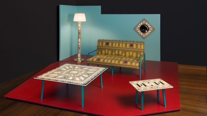 Facciata Quattrocentesca collection by Fornasetti