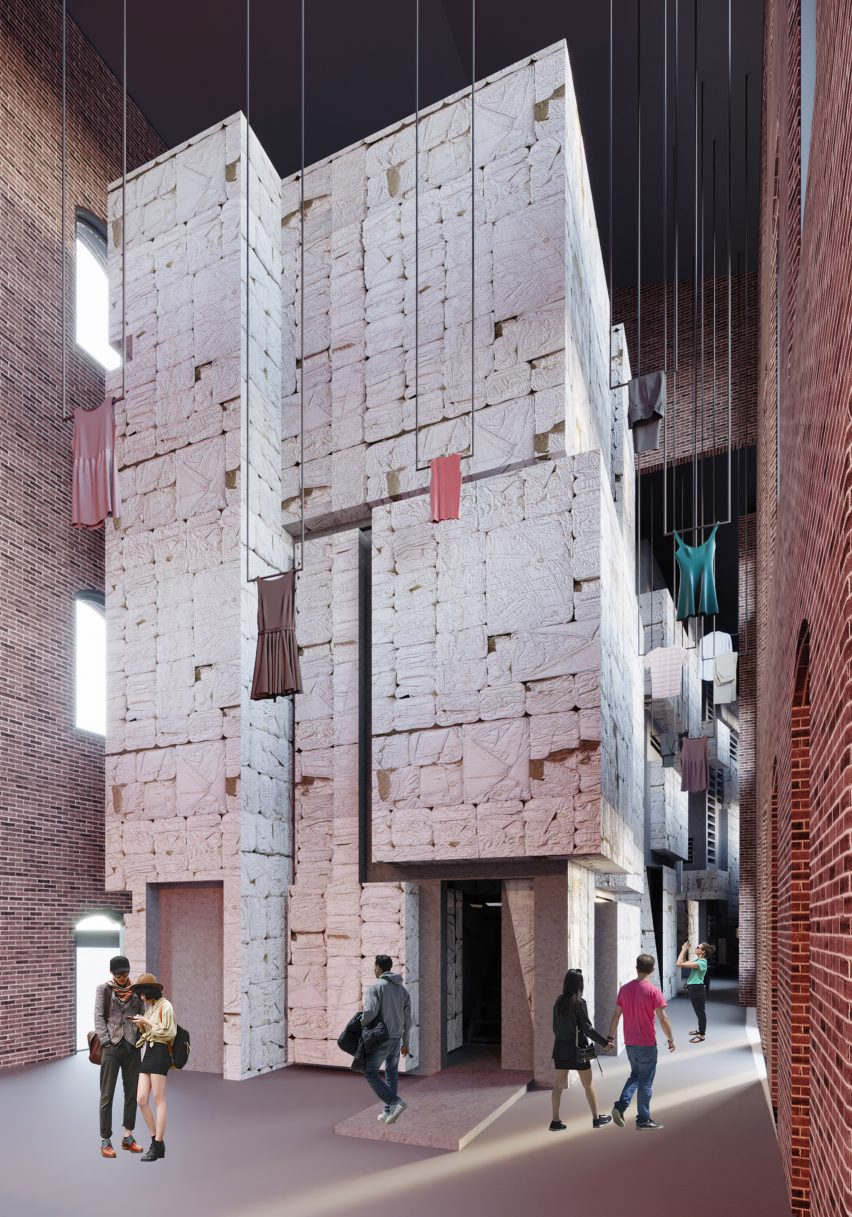 Falmouth University grads design interiors for most vulnerable members of society