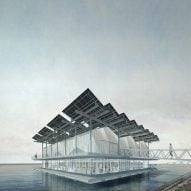 Goldsmith unveils design for urban floating chicken farm in Rotterdam