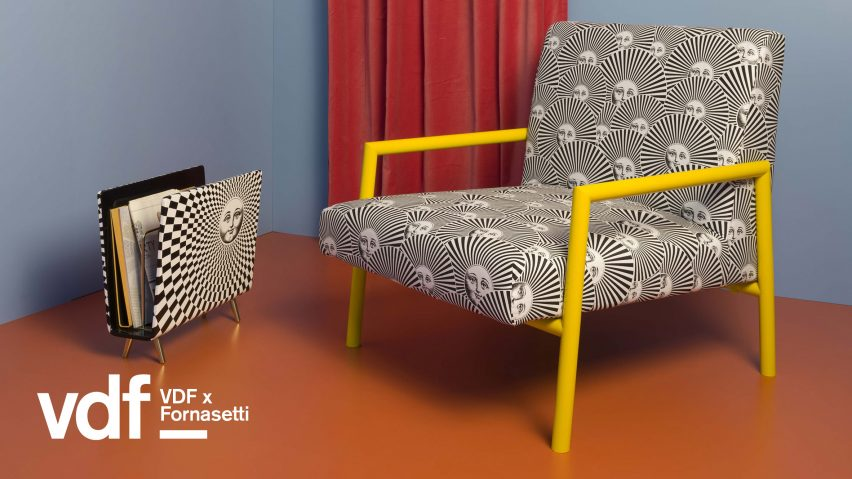 Fornasetti presents Unusual Living Rooms series at VDF products fair