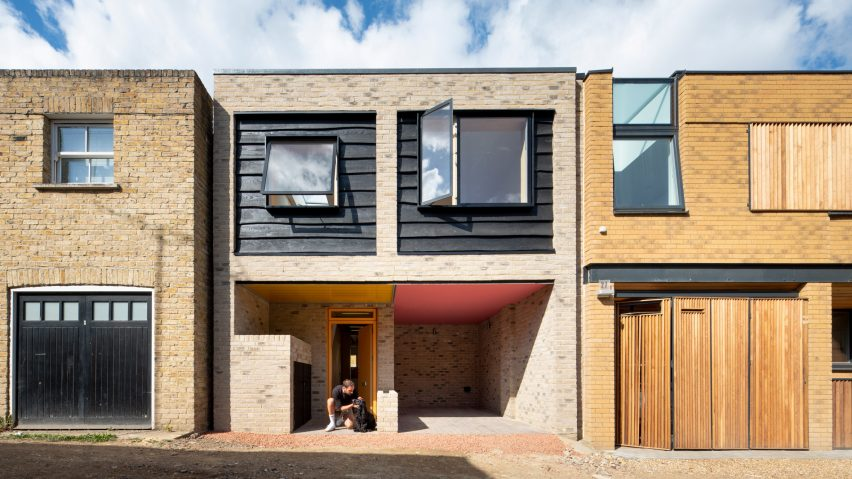 Stories Mews in south London by Cottrell and Vermeulen Architecture