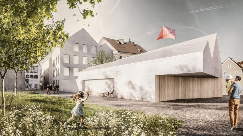 Marte.Marte Architects unveils plans to convert Hitler's house into police station