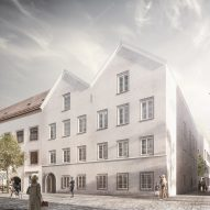 "Marte.Marte Architects to convert Hitler's birthplace into police station with ""minimalist architectural language"""