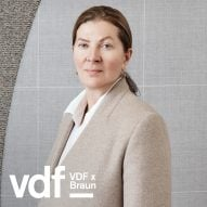 Live interview with Ilse Crawford as part of VDF's collaboration with Braun