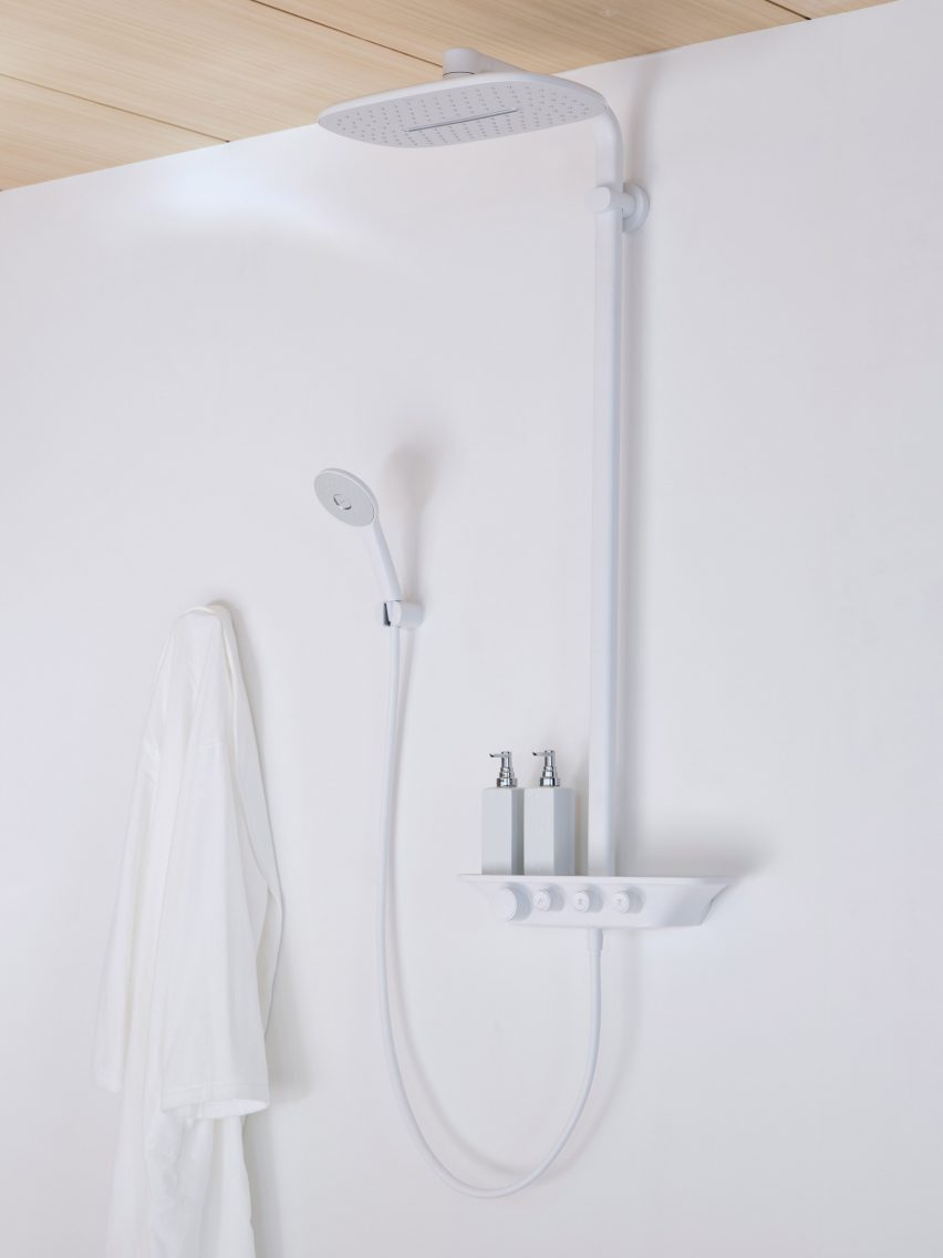 Intelligent Control shower system by INAX