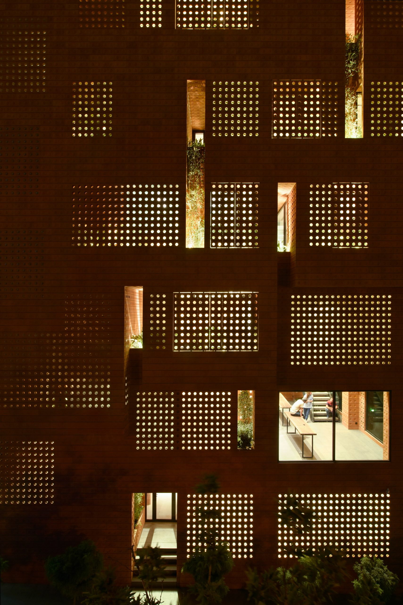 Kohan Ceram headquarters by Hooba Design Group