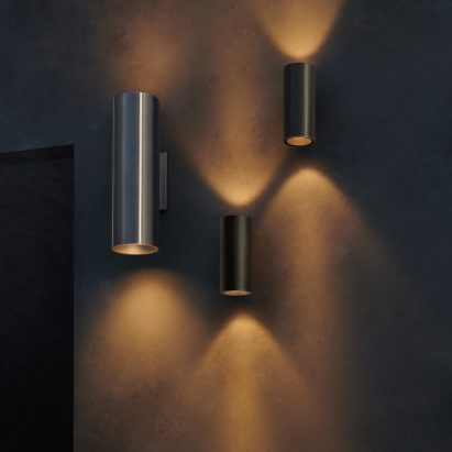 Lance wall lights by Meteor Lighting