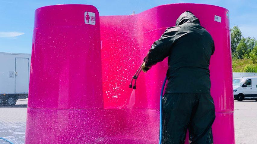 Lapee urinals during pandemic public toilet shortage