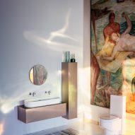 Sonar bathroom collection by Patricia Urquiola for Laufen