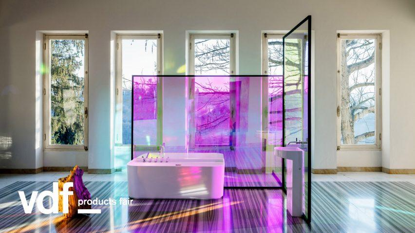 Patricia Urquiola's Sonar bathroom collection for Laufen