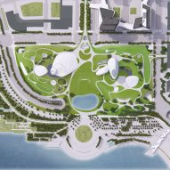 Shenzhen Bay Culture Park by MAD
