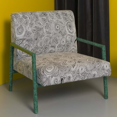 Solitario living room furniture by Fornasetti