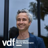 Live interview with Dezeen logo designer Micha Weidmann as part of Virtual Design Festival