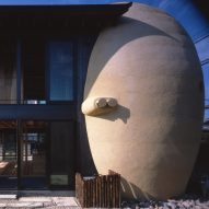 Ryuichi Ashizawa Architects incorporates egg-shaped tomb into Sakai house