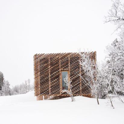 Mork-Ulnes Architects' Skigard Hytte in Kvitfjell, Norway