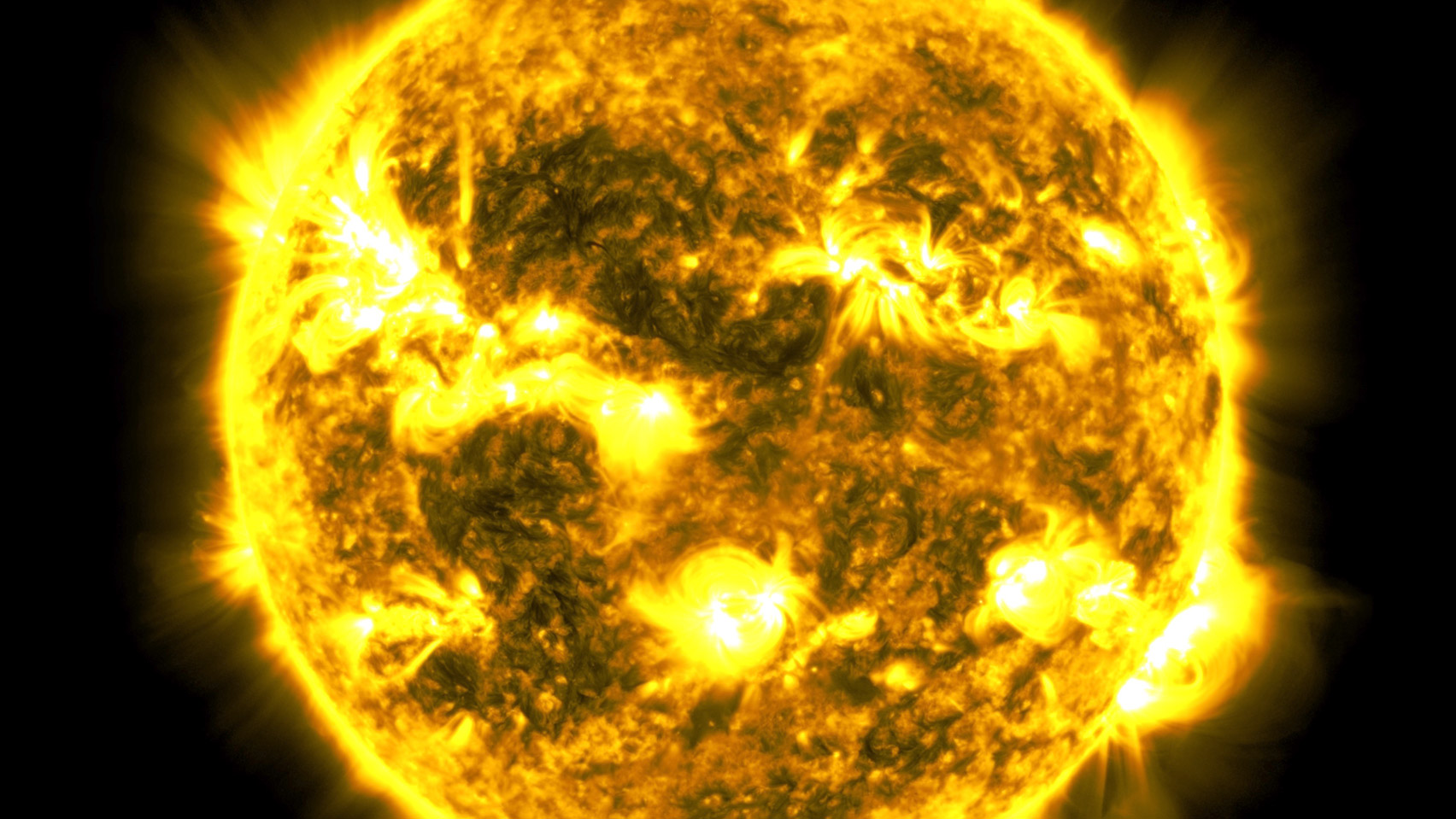 NASA releases decade-long time lapse of the sun