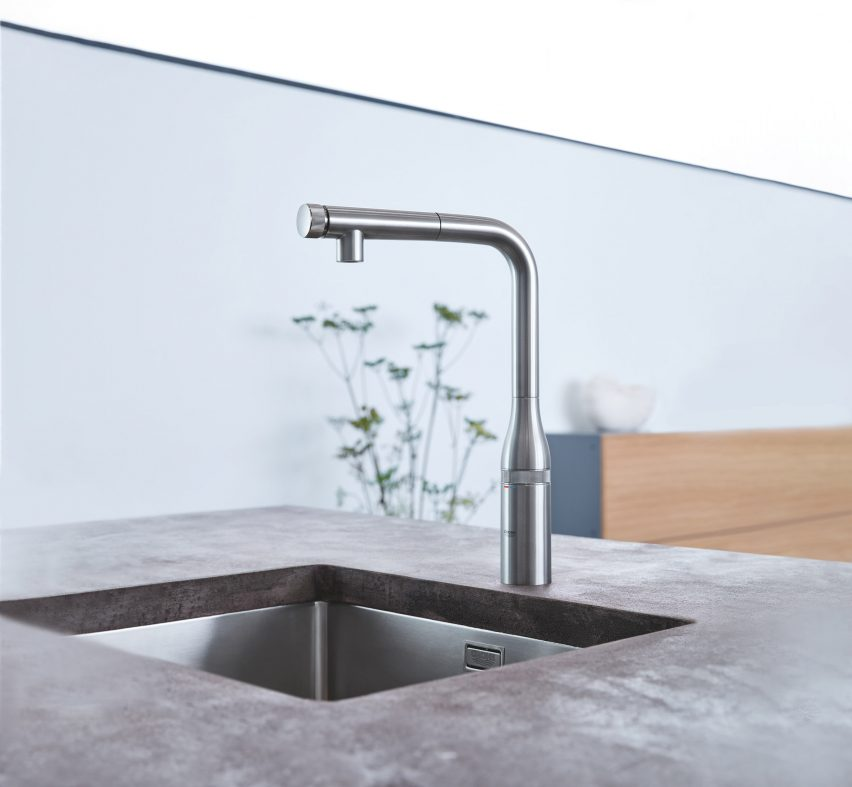 """""""Consumers want touchless products to limit spread of germs"""" says Grohe's Patrick Speck"""
