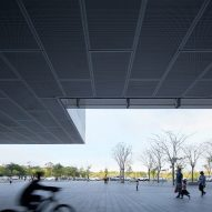 Pingshan Performing Arts Center by Open Architecture