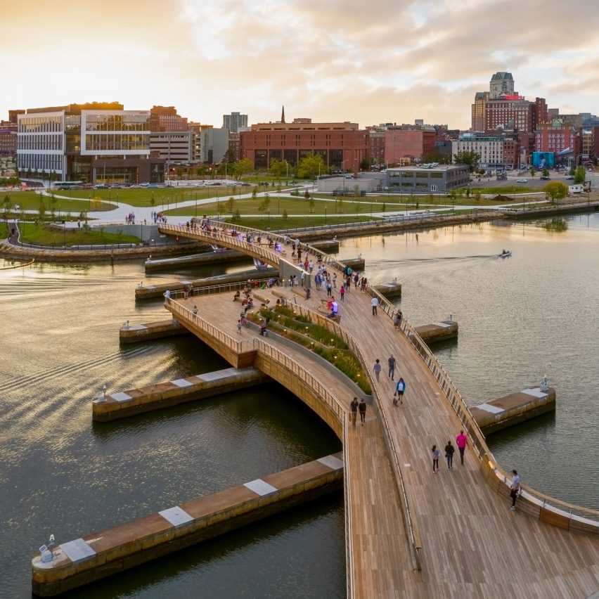Providence Pedestrian Bridge by Inform Studio