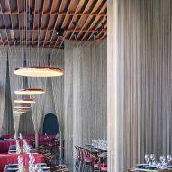 Qualia restaurant in Mumbai designed by Serie Architects
