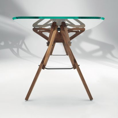 Reale table by Carlo Mollino and Zanotta