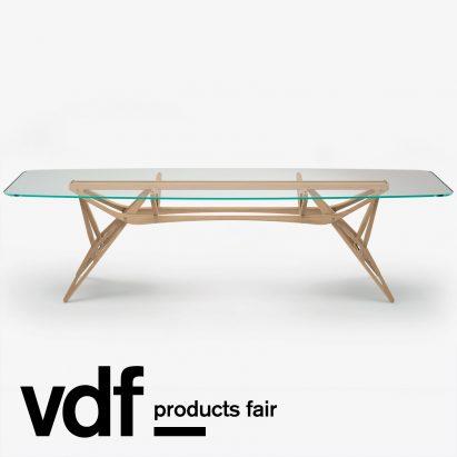 Reale Table by Carlo Mollino for Zanotta