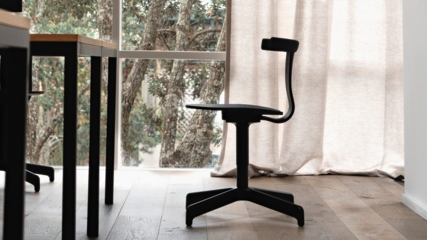 John Tree challenges conventional office design with Jiro Swivel Chair for Resident