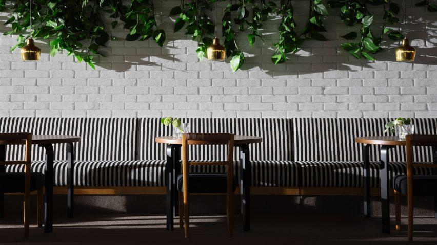 Restaurant Savoy renovation by Studio Ilse and Artek