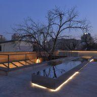 Restaurant Ya designed by C+ Architects