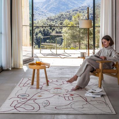 Silhouette rugs by Jaime Hayon and Nanimarquina