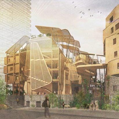 South Bank University students rethink London's architecture