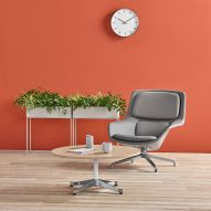Striad Chair and Ottoman by Markus Jehs and Jürgen Laub for Herman Miller