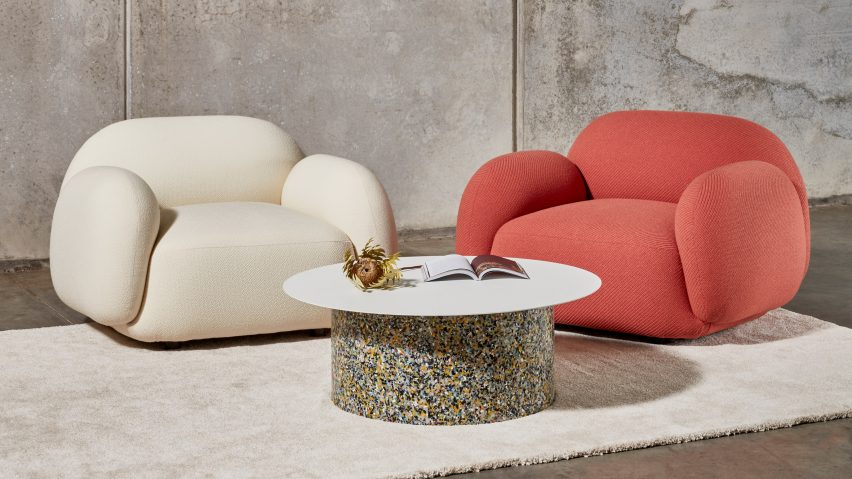 Sundae Lounges by Jason Ju for the chubby furniture roundup