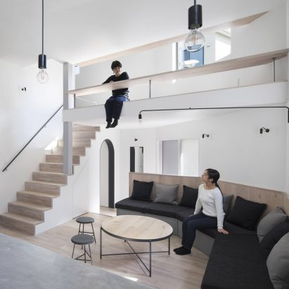 Zeze Osaka co-living house by Swing architects
