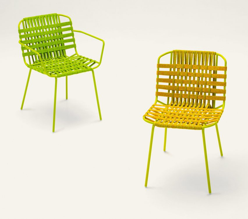 Telar furniture collection by Paola Lenti