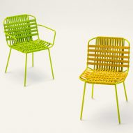 Telar seating collection by Paola Lenti
