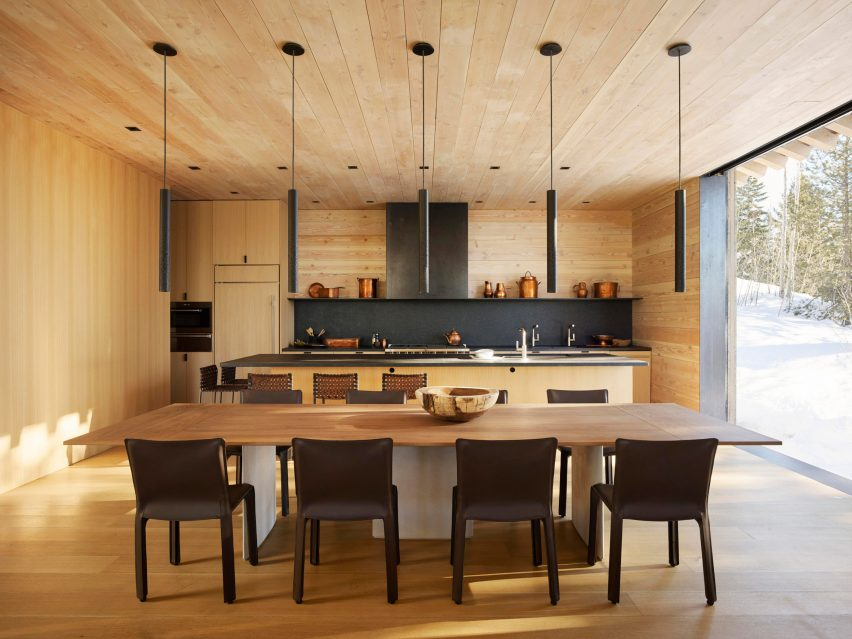 Teton House by Olson Kundig