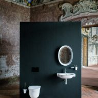The New Classic bathroom collection by Marcel Wanders for Laufen