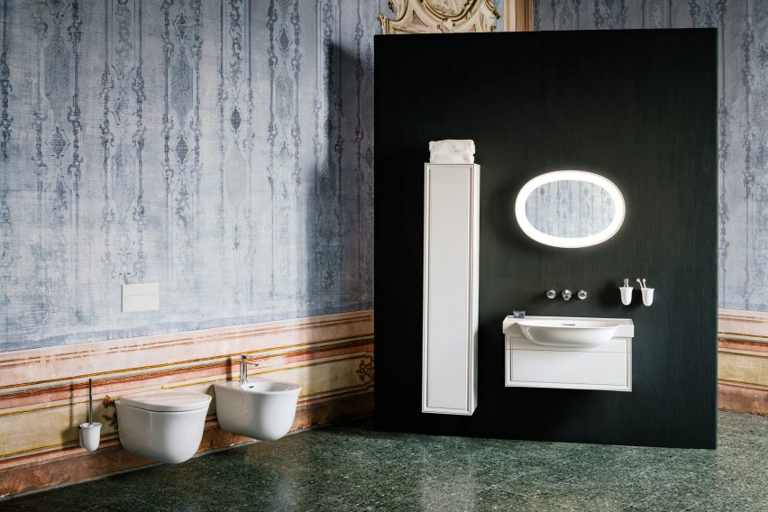 Marcel Wanders' New Classic collection for Laufen