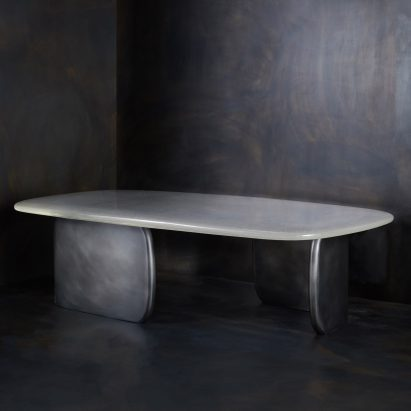 Tidal Rectangular Cocktail Table by John Pomp