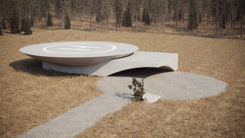 Underground House Plan B by Sergey Makhno Architects