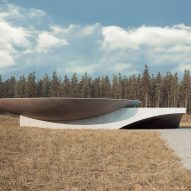 "Commenters think ""Bond villains"" might like an underground concrete home concept"