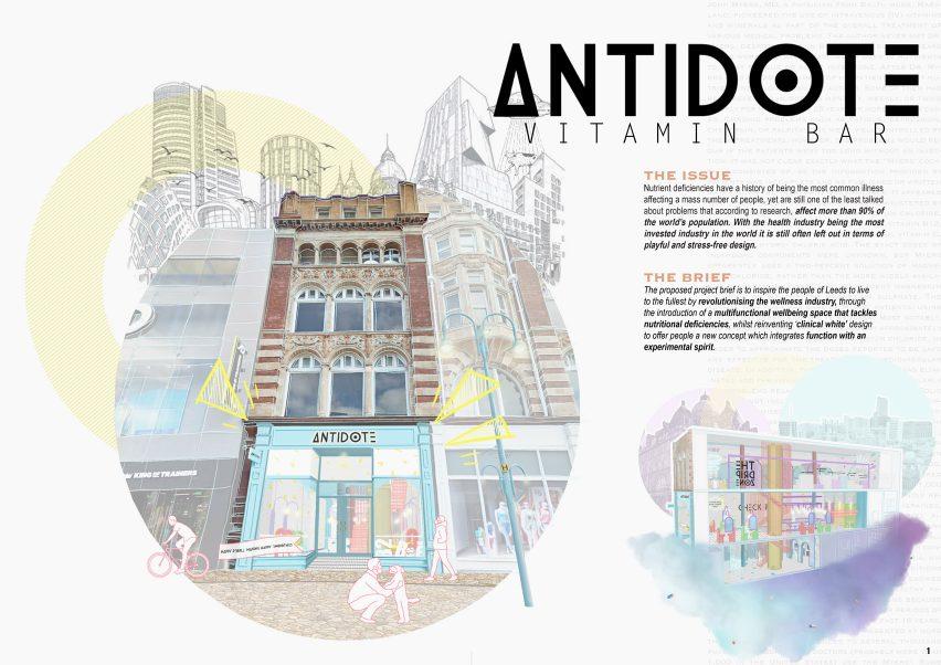 Antidote by Nadia Wroteka