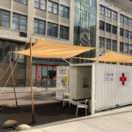 Shipping-container coronavirus testing centre trialled in Australia