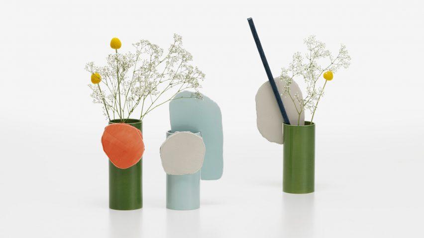 Vases Decoupage by Vitra