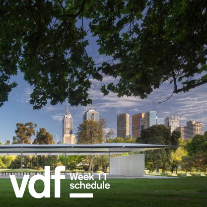 Schedule for VDF week 11