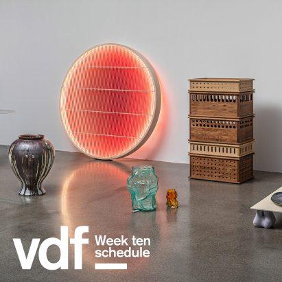 Virtual Design Festival schedule week ten